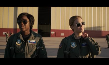 Captain Marvel teaser trailer gets 100mil + views in 24hrs. British Blacktress Lashana Lynch stars