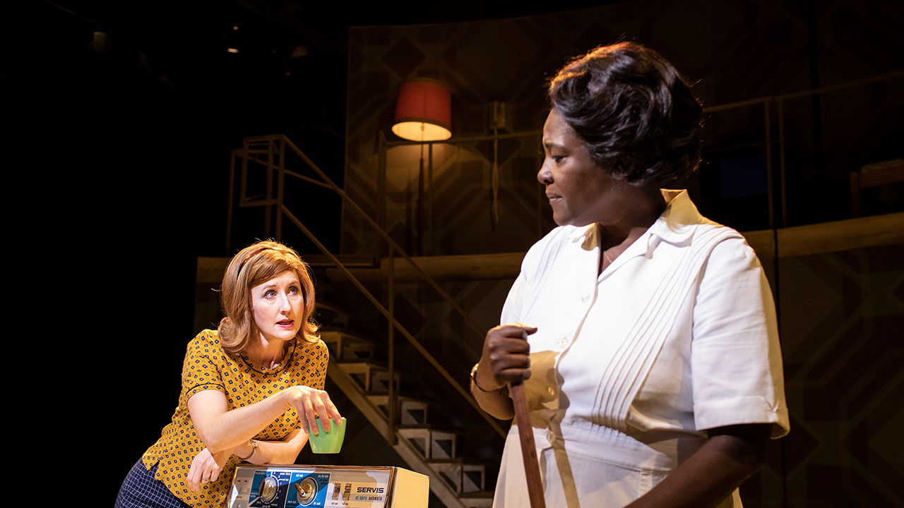 Lauren Ward and Sharon D. Clarke in Caroline Or Change at Playhouse Theatre  Photo Credit: Helen Maybanks