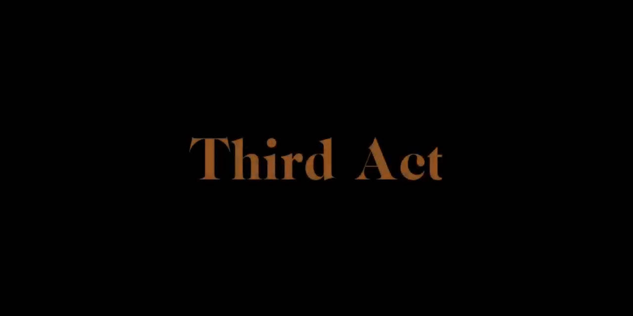 TBB Recommends new digital short film 'Third Act'