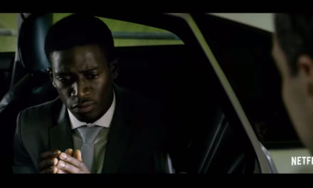 Damson Idris stars in Black Mirror episode 'Smithereens'