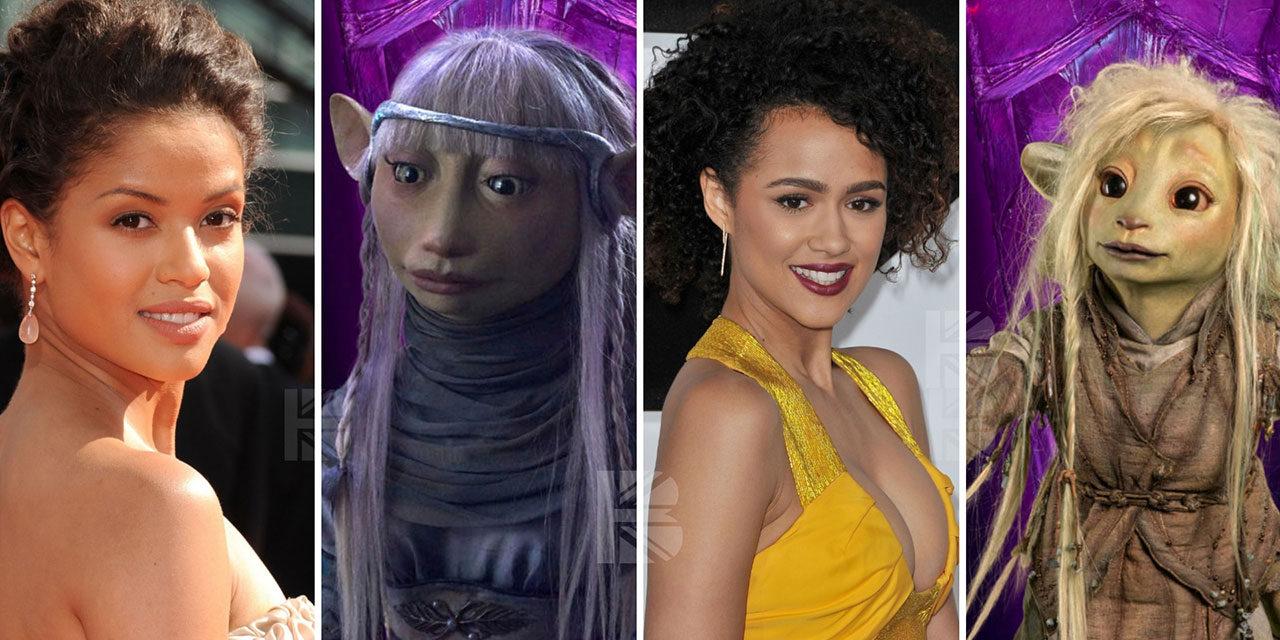 Gugu Mbatha-Raw & Nathalie Emmanuel Voice 'Dark Crystal' reboot characters.