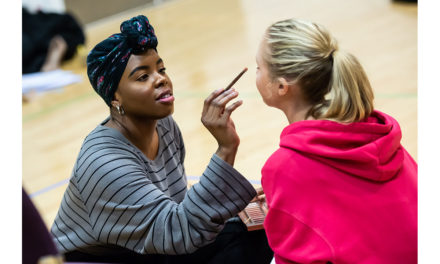 TBB Talks… Helen Aluko plays a teenage boy in lily Shahmoon's new play 'lipstick'