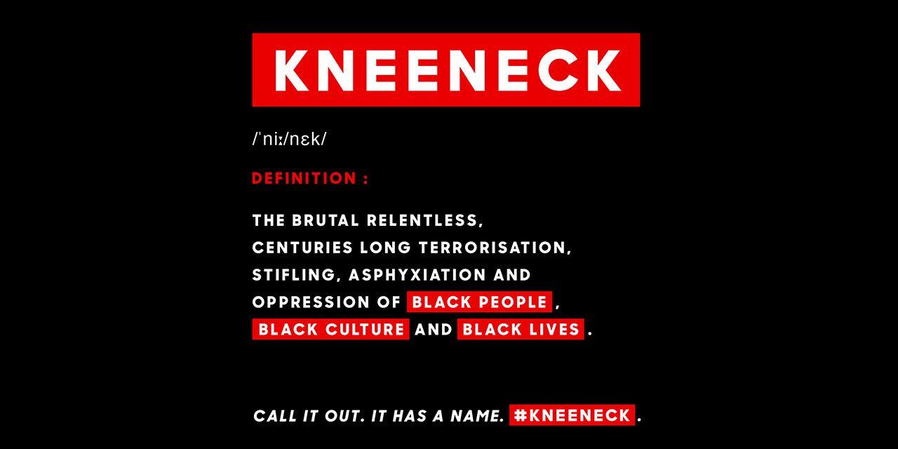 "The word is ""kneeneck""!"