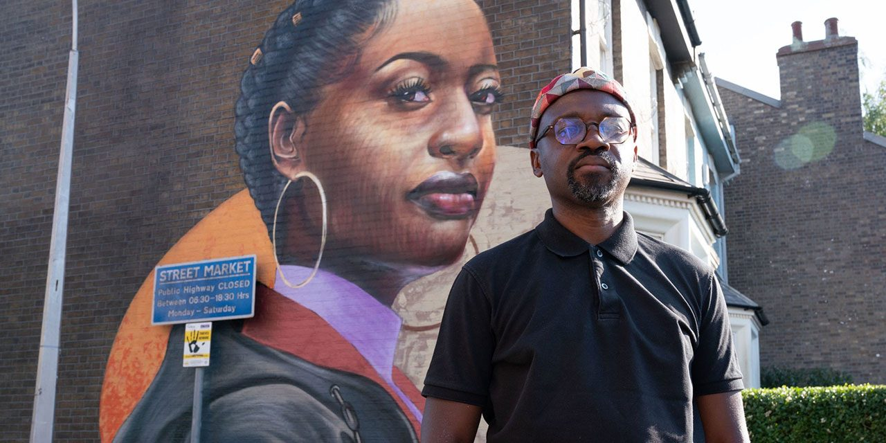 British-Ghanaian artist Dreph's artwork to brighten up Eastenders set