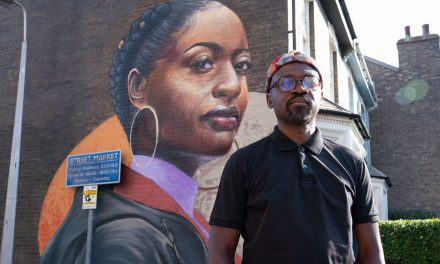 British-Ghanaian artist Dreph's artwork to brighten up Eastenders set