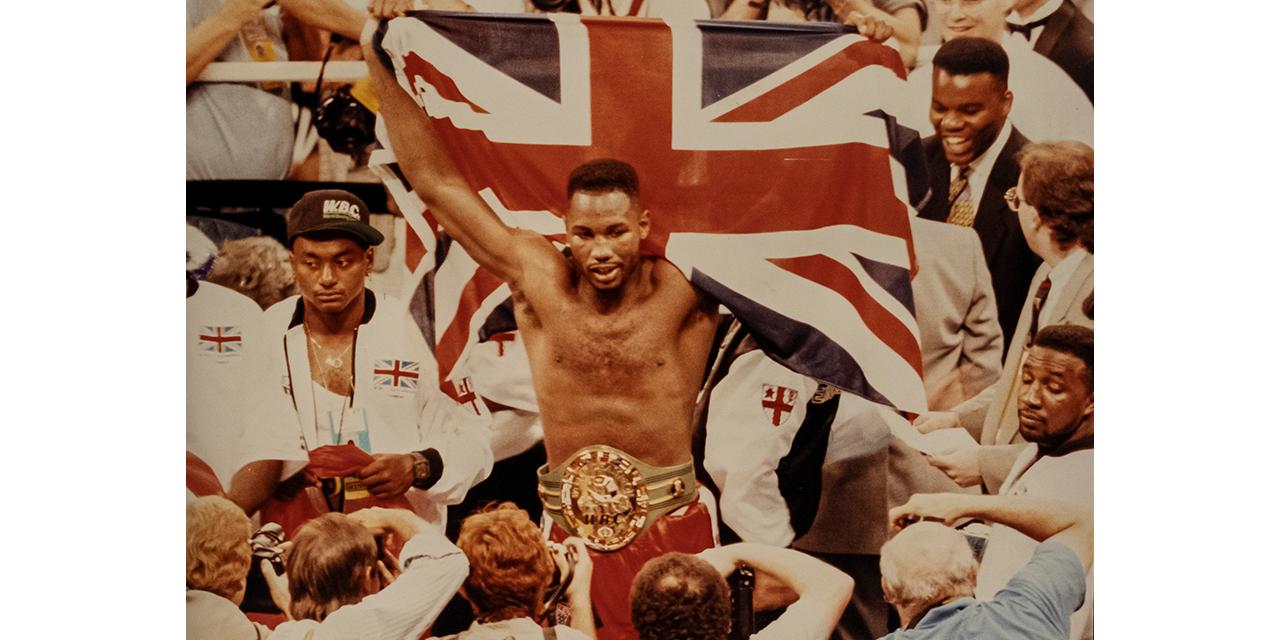 dr Dre narrates a film about  champion boxer Lennox Lewis