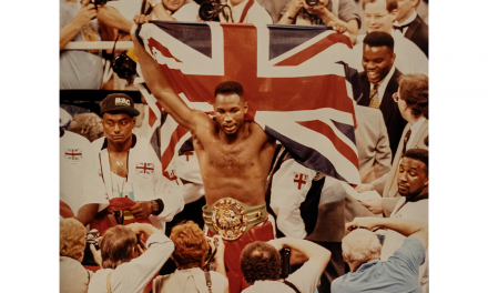 dr Dre narrates a film about  champion boxer Lennox Lewis