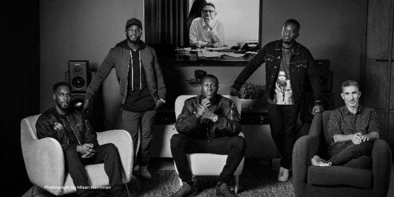 stormzy signs to 0207 DEF JAM UNiversal LABEL fronted by Alec & Alex boateng