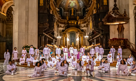 Junior Garr & The Spirituals Choir reimagine traditional Christmas carols at St. Pauls Cathedral