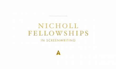 The 2021 Academy Gold Nicholl Fellowship for screenwriters is open – FINAL deadline  May 3, 2021.