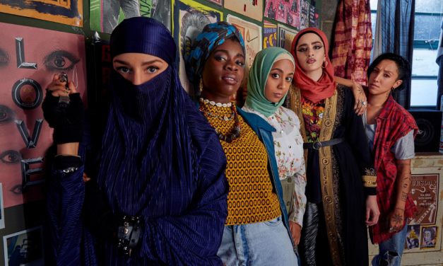 Peacock/Channel 4 share first image of Muslim Punk Comedy 'We Are Lady Parts' Starring Faith Omole