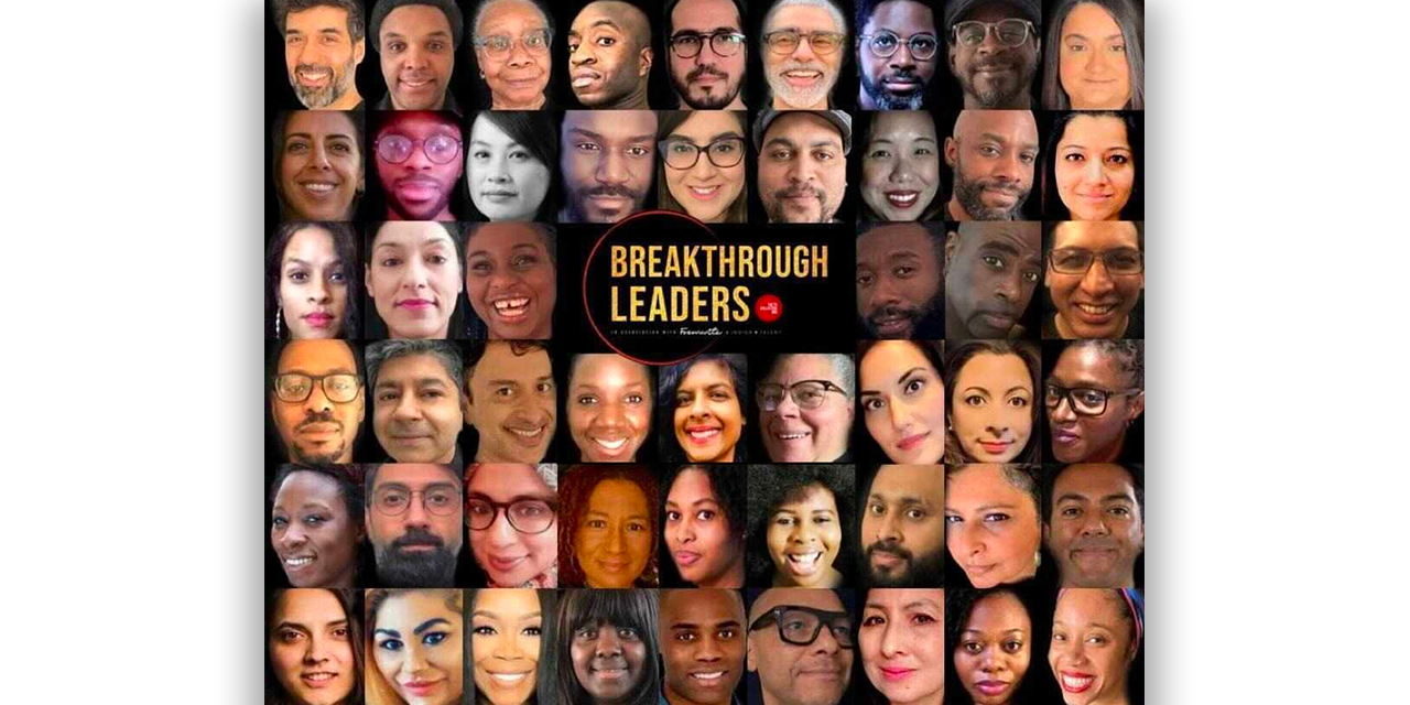 tv collective shares its Top 51 Breakthrough Leaders from Black, Asian and non-white backgrounds