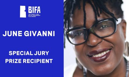 FILM CURATOR AND ACTIVIST JUNE GIVANNI AWARDED THE BIFA SPECIAL JURY PRIZE