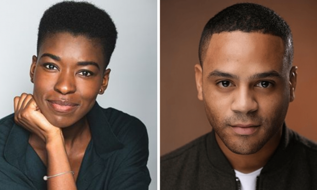 Daniel Anthony and Jocelyn Prah cast in Magic goes wrong uk tour