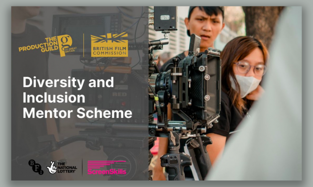 Production guild launches Diversity and Inclusion Mentor Scheme in partnership with the British Film Commission (BFC)