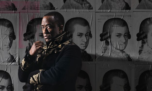 Lucian Msamati A HIT as Italian Composer Antonio Salieri in NT's, Amadeus