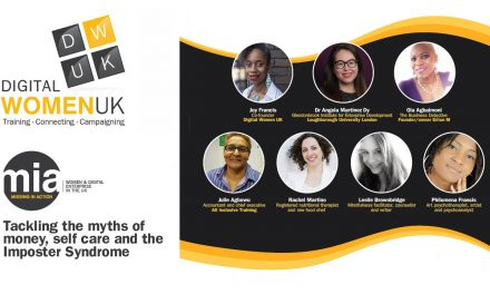 Digital Women UK – Tackling the Myths of Money, Self Care & Imposter Syndrome