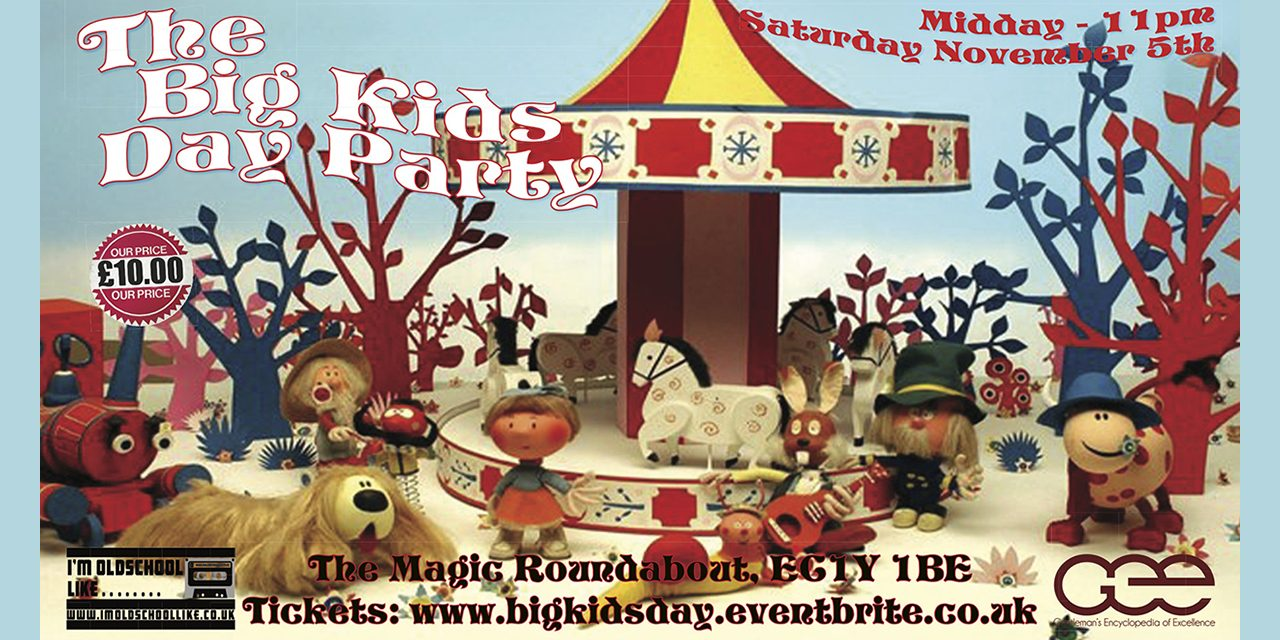 The Big Kids Day Party Nov – 5th