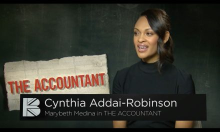 TBB Speaks EXCLUSIVELY to Cynthia Addai-Robinson | Star of The Accountant