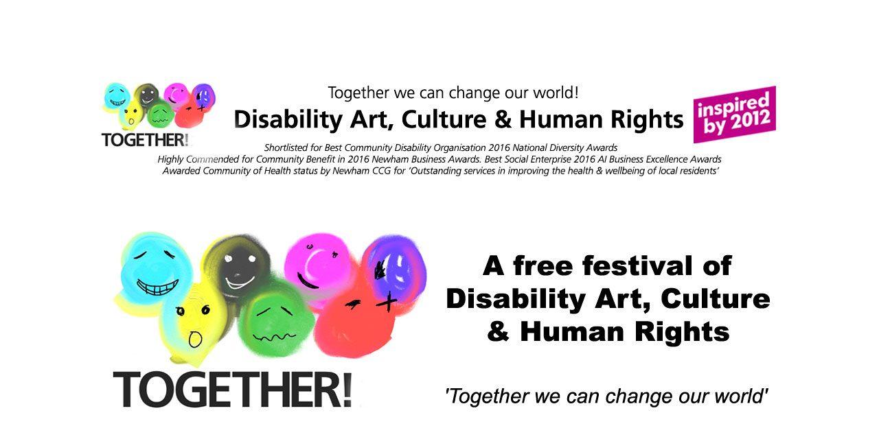 Together! 2016 Disability Film Festival 9-11 December 2016