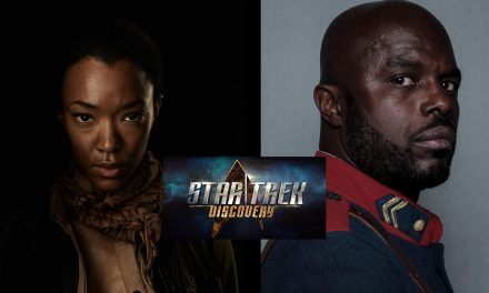 Walking Dead's Sonequa Martin-Green Joins Brit Actor Chris Obi to Take Lead Role in, New Star Trek: Discovery, Series