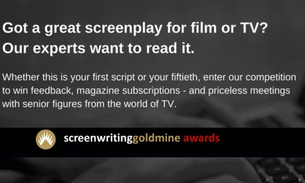 Prestigious Screenwriting Goldmine Awards Open For Application. Fees Apply. Deadline January 31st 2017