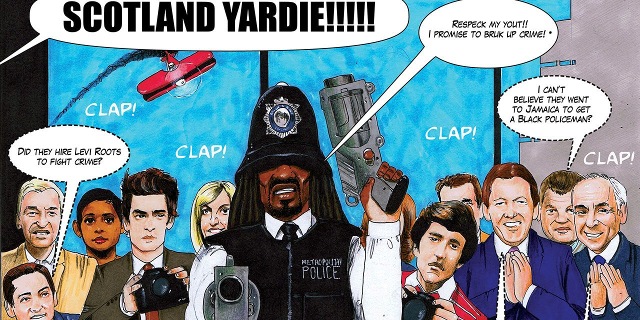 TBB Meets Bobby Joseph – Author of UK's First Black British Graphic Novel, Scotland Yardie