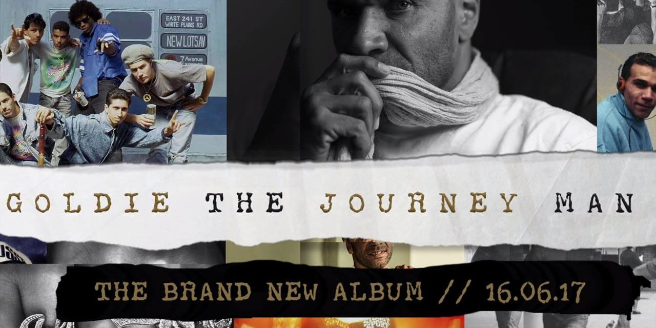 Goldie To Release Memoir 'All Things Remembered' & New Album 'The Journey Man'