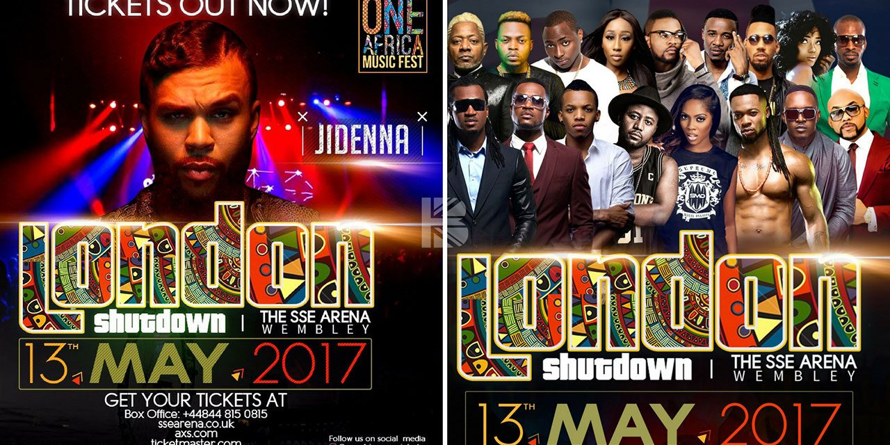 Classic Man Jidenna & Ghana's Rap Superstar Sarkodie Join The One Africa Music Fest UK Line Up!