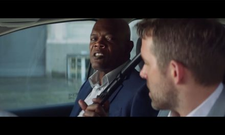 The Hitman's Bodyguard Starring Samuel L. Jackson