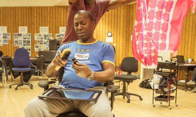#TBB10 With Cyril Nri Starring In Inua Ellams Barber Shop Chronicles Opening 30th May @ National Theatre