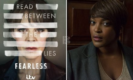 "90% #OutOf100: ITV's Essential New Drama ""Fearless"" With Central Cast-Member Wunmi Mosaku As Senior Detective!"