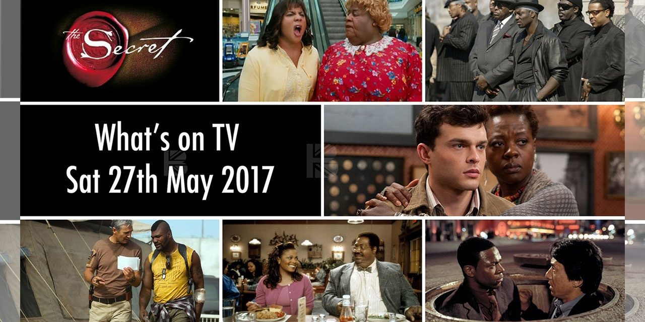 What's On TV – Saturday 27th May