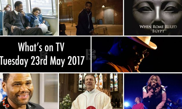 Whats On TV – Tuesday 23rd May 2017