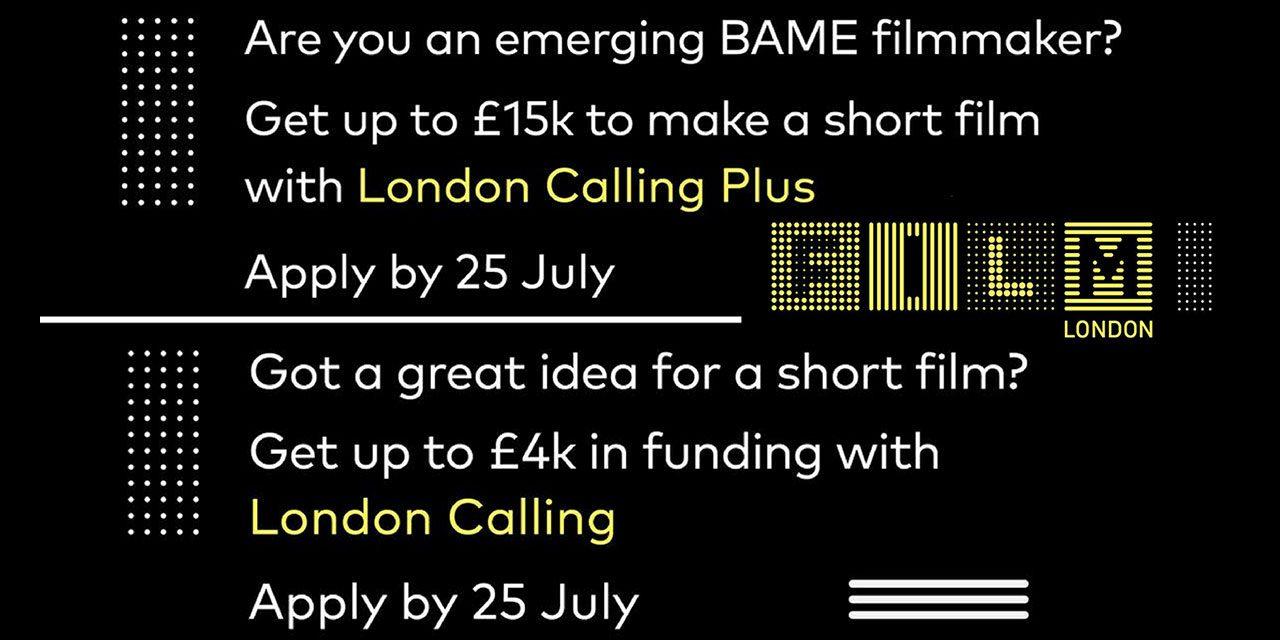 Annual Film London Short Film Scheme Open For Application. Deadline Tues 25th July 2017