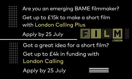 Annual Film London Short Film Scheme Open For Application. Deadline Tues 25th July 2017