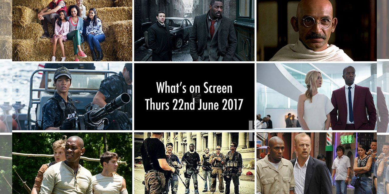 What's On Screen – Thursday 22nd June 2017