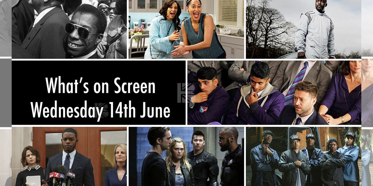 What's On Screen – Wednesday 14th June 2017