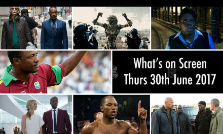 What's On Screen – Thursday 29th June 2017
