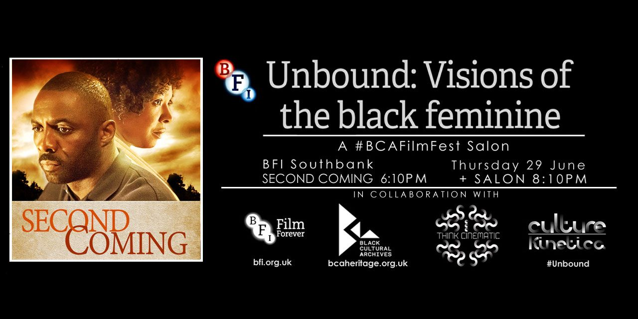#BCAFilmFest Host Screening and Q&A of Second Coming Starring Idris Elba and Nadine Marshall @ BFI Thurs 29th June 2017
