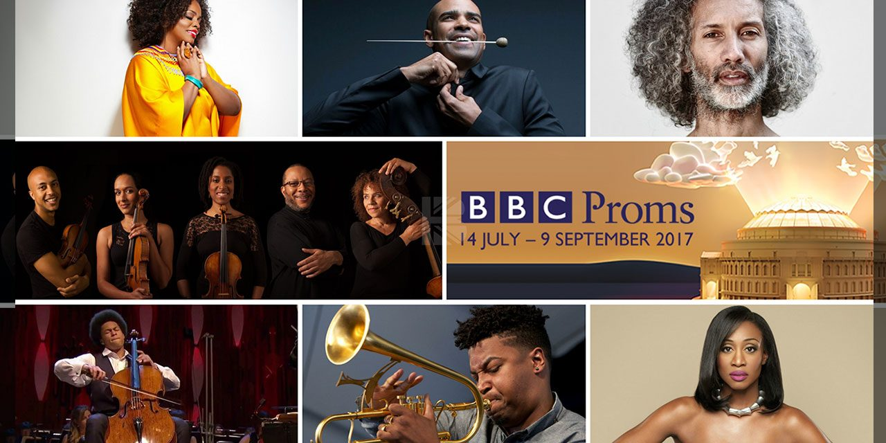 Beverley Knight, Ruby Turner, Saxophonist Shabaka Hutchings, Cellist Sheku Kanneh-Mason, Soprano Jeanine De Bique, & Chineke! At BBC Proms '17