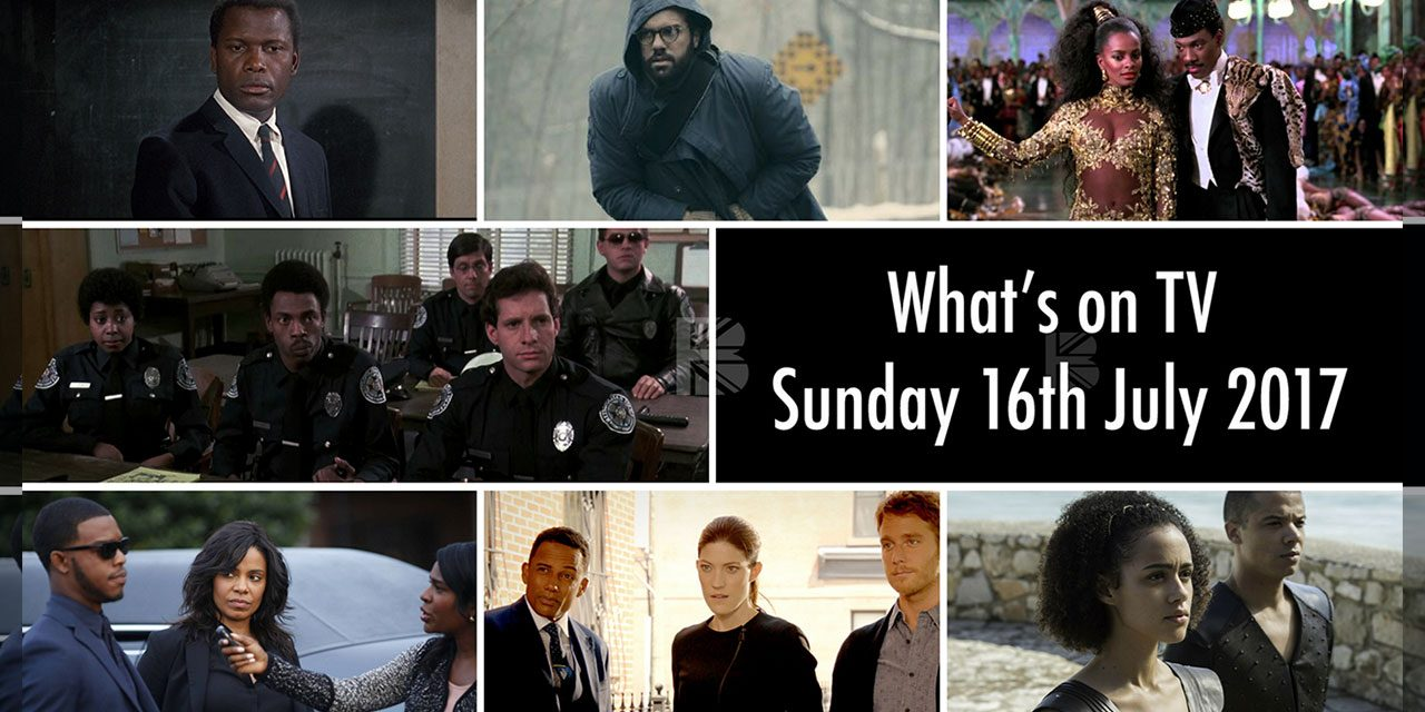 What's On Screen – Sunday 16th July 2017