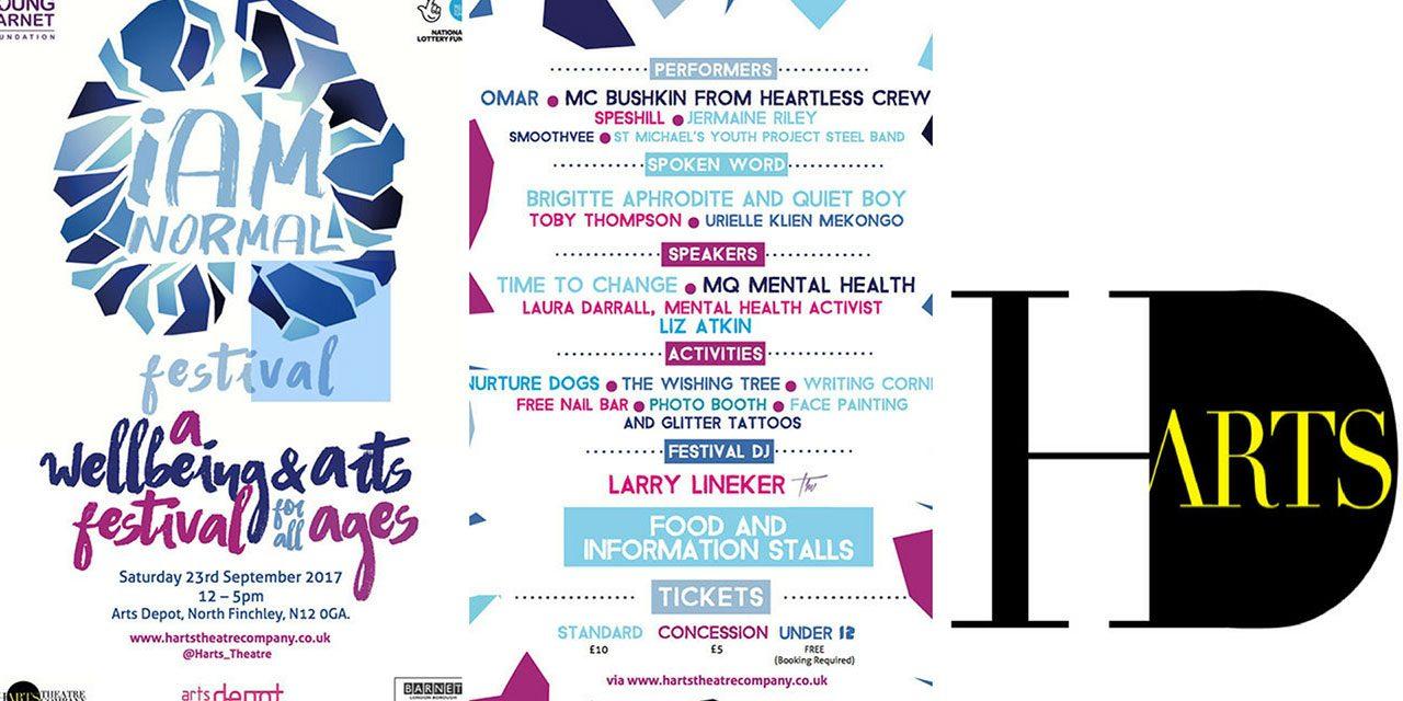 Harts Theatre Company presents iAM Normal Festival