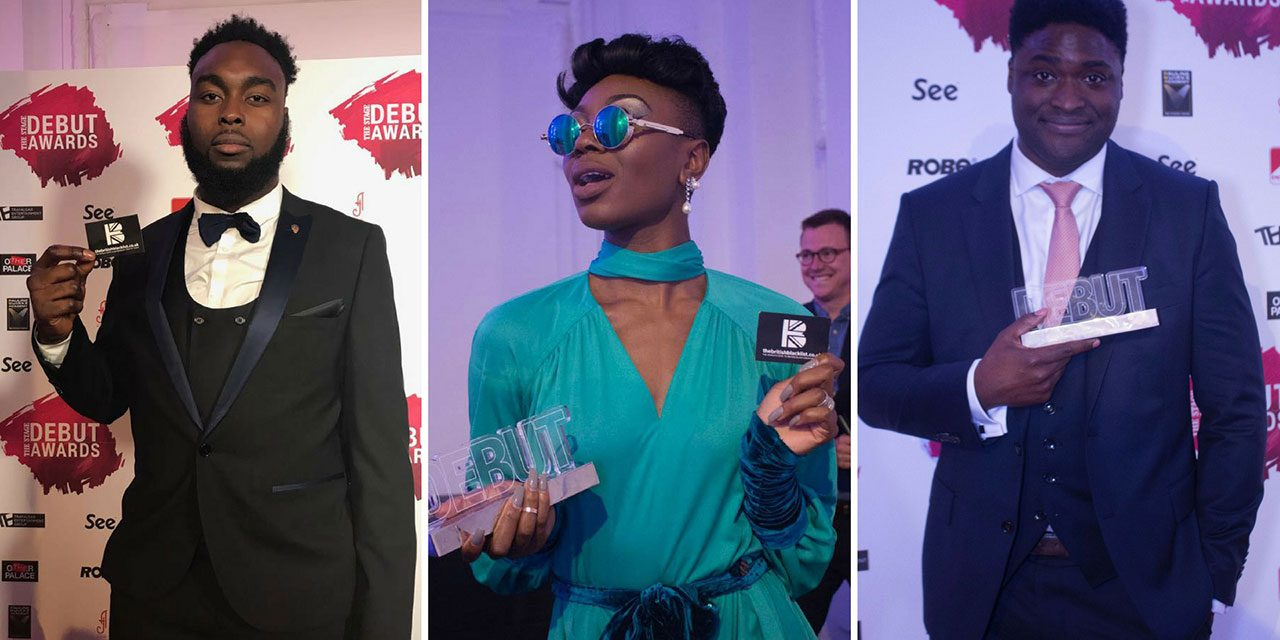 CONGRATULATIONS to Abraham Popoola; Miriam-Teak Lee; Lekan Lewal Winning Big @ Stage Debut Awards
