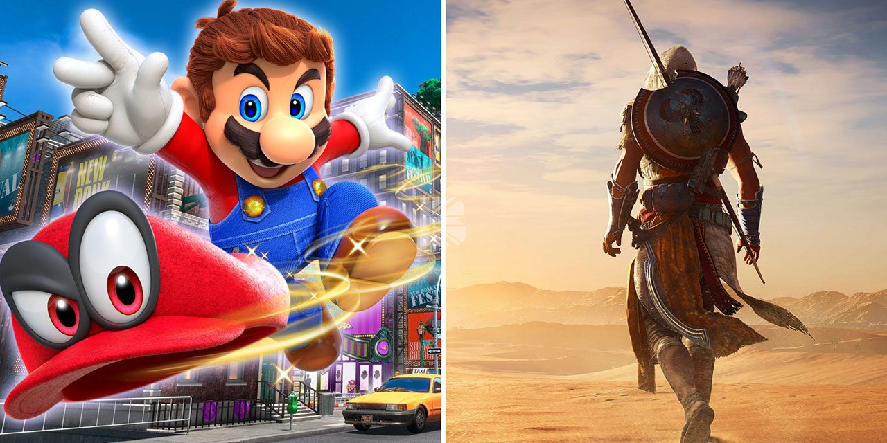 Super Mario Odyssey and Assassin's Creed Origins Out Today!