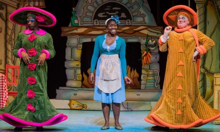 76% #OutOf100 Cinderella dazzles on its return to the Hackney Empire stage