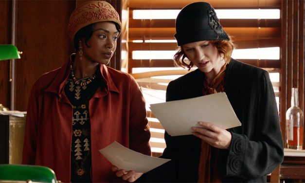 """Jamaican-Canadian Chantel Riley Stars in Period Crime Series """"Frankie Drake Mysteries,"""" Premiering on UK's Alibi Channel, 23rd Jan"""