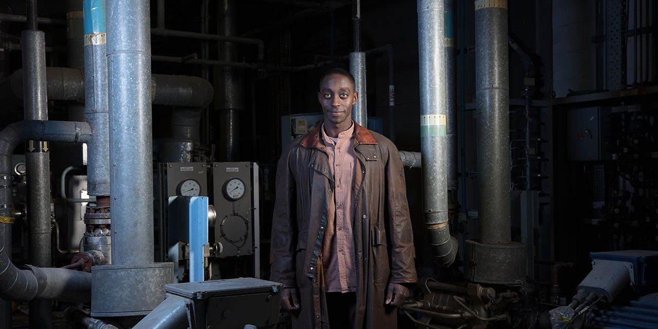 #TBB10 with Humans' star Ivanno Jeremiah discussing his character Max's challenging journey ahead