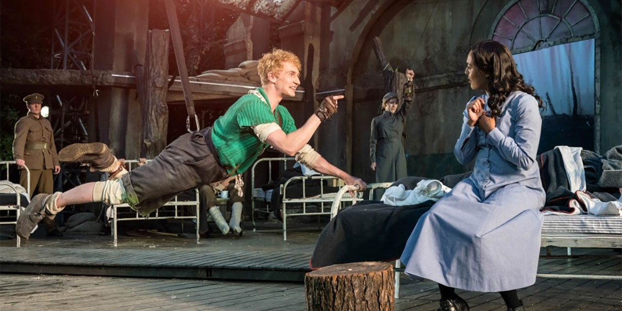 """Regent's Park Open Air Theatre's """"Peter Pan"""" Is an inclusive tribute to WW1's Battle of The Somme! 70% #OutOf100"""