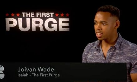 Joivan Wade speaks to The British Blacklist about The First Purge